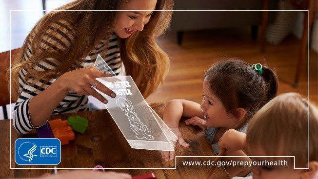 CDC's #ReadyWrigley activity books can help you teach and talk to your kids about emergency preparedness and planning. Download here:   #PrepYourHealth #NatlPrep