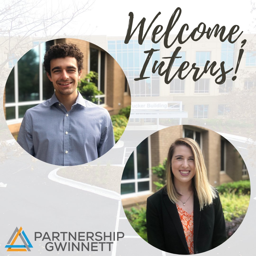Please help us in welcoming our two new interns, Anthony and Madeline! They will be with us throughout the fall semester and we are so excited to have them on our team!
