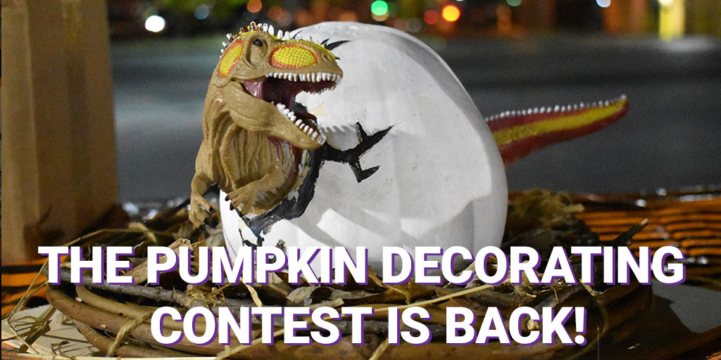 We had such a great response to our virtual-style LEGO Competition, that we're doing it again for our 10th annual Pumpkin Decorating Contest! Get the details now at .