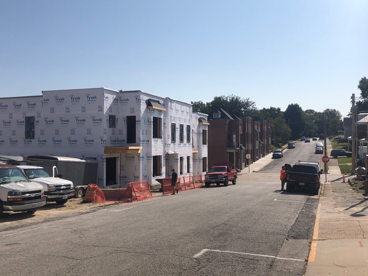 Main and Market Townhomes @downtownwashmo