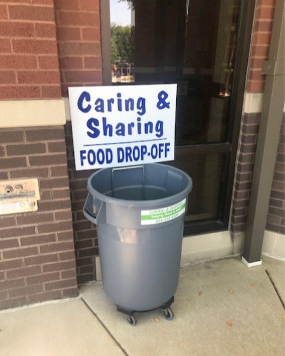 Our friends at Caring and Sharing Organization informed us that their food pantry is very low and we thought we would try and help them out.  There is a container outside for anyone who would like drop off some non-perishables.  #FoodDrive #HelpFeedPeople