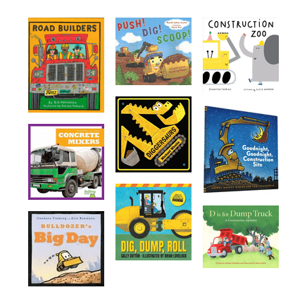 Do your kids love to build? These books on construction are sure to please!