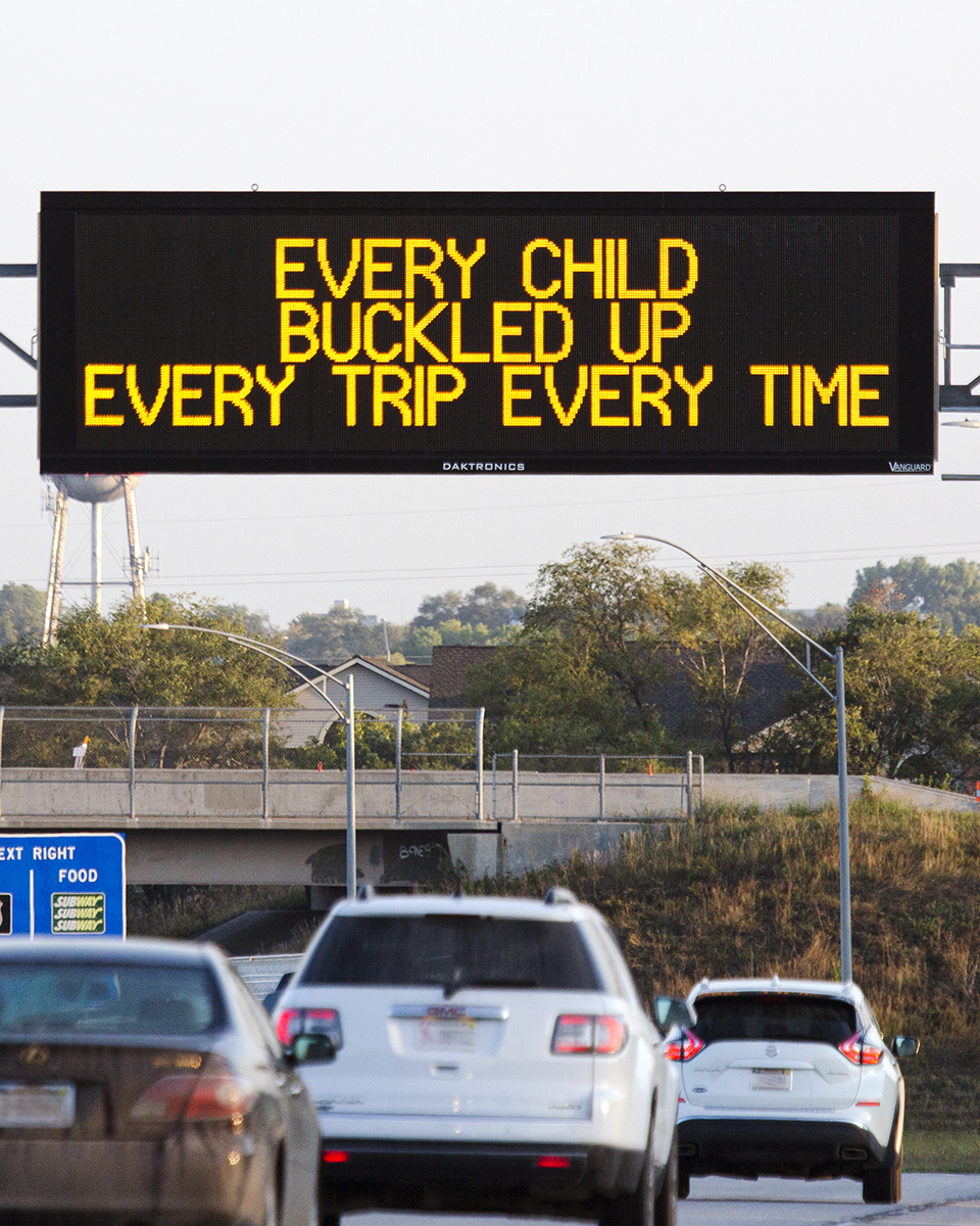 As we wrap up #ChildPassengerSafetyAwarenessWeek, here's one last reminder about the importance of ensuring that all kids are properly secured in vehicles.  Seat belts, car seats, & boosters save lives.  So from young to old, buckle up every time!  #FridaySafetyMessage