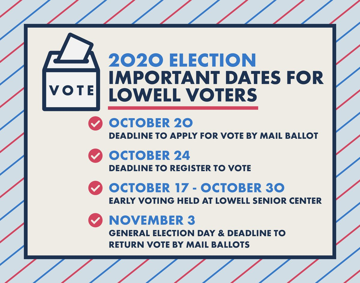 In the upcoming election, you can vote by mail, vote early between Oct. 17th & Oct. 30th, or vote at your normal polling location on Nov 3. No matter which method you choose, your first step should be making sure you're registered. Check online at: