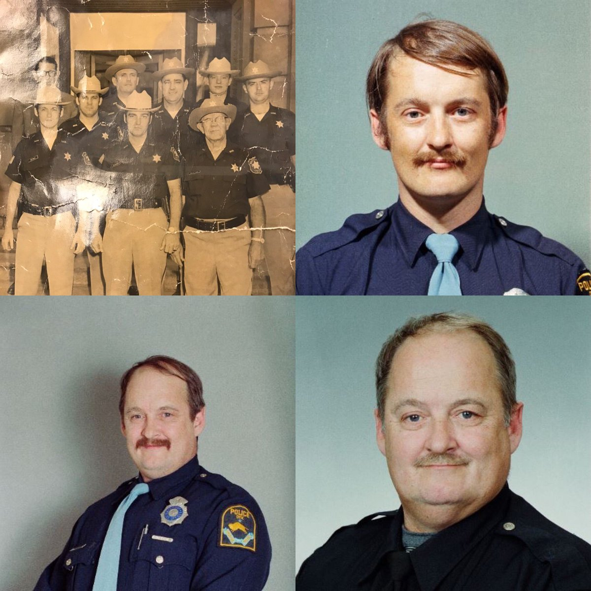 #OPD Ed Hale retired today after serving and protecting the Omaha community for 50 years! via @OPDOfcNickerson