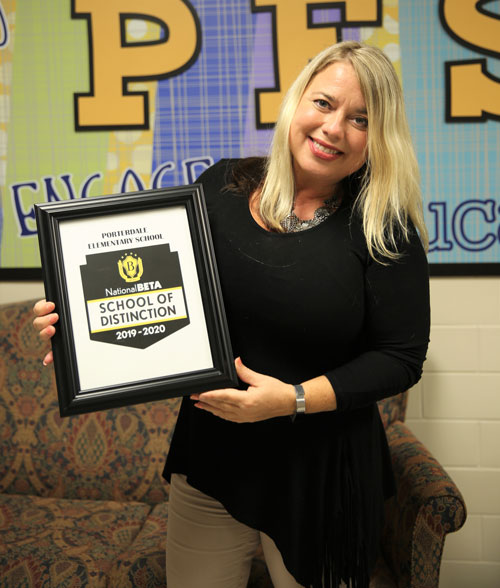 Congratulations to @PDESRams for being named a 2020 National Beta School of Distinction!  #NCSSBeTheBest