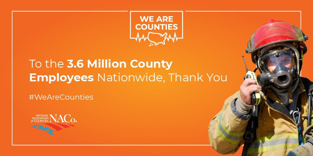 We just want to say #thankyou to County Employees, in McLean County Government and across the nation!    @NACoTweets @ICMA #Workers #WeAreCounties