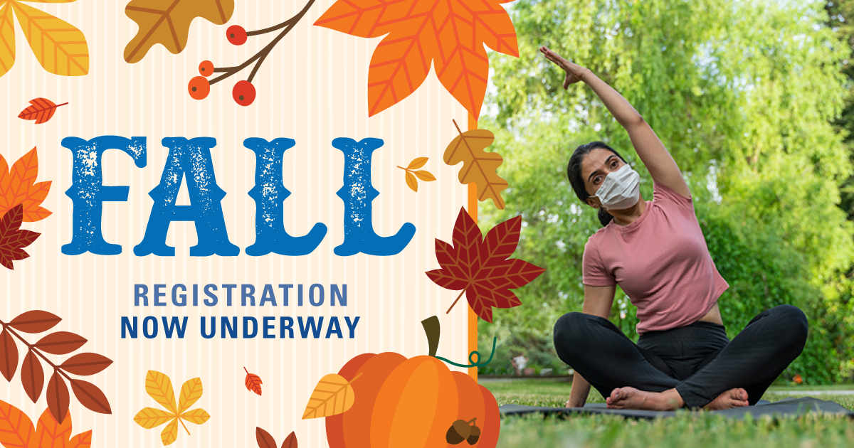 Get ready, our digital guide for FALL Session II registration comes out Monday, October 5th. Classes are outdoors or virtual. Our Fall Session I is underway and there's still time to register for those classes now. Visit  to register. #MoCoRec #fallschedule