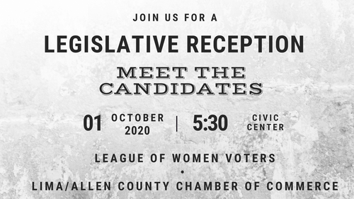 It's right around the corner!  Don't miss out on getting registered for the Legislative Reception on October 1st.  Click the link for all the information and to register!