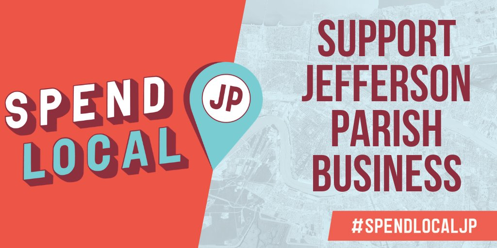 Have you seen the #SpendLocalJP yard signs and billboards around #JeffParish? Our Spend Local initiative was designed to elevate JP businesses. There are SO MANY free & easy ways to get involved and reap the benefits. Learn more in our newsletter.