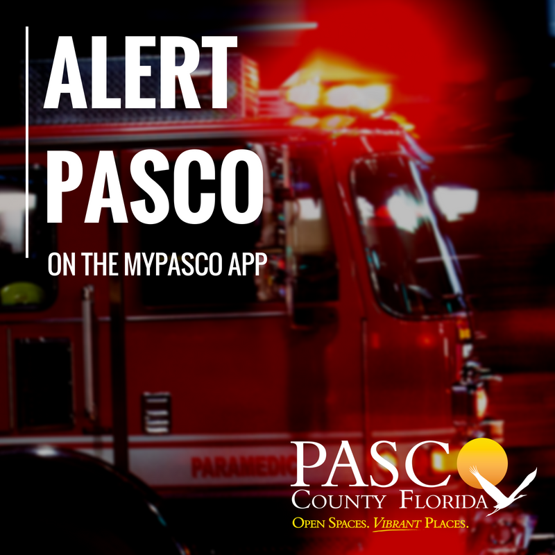 REMINDER: Please be aware, there will be a test of the Alert Pasco system today, Friday, September 25 at 1pm.  THIS MESSAGE IS ONLY A TEST.  If you want to sign up for Alert Pasco, please visit: