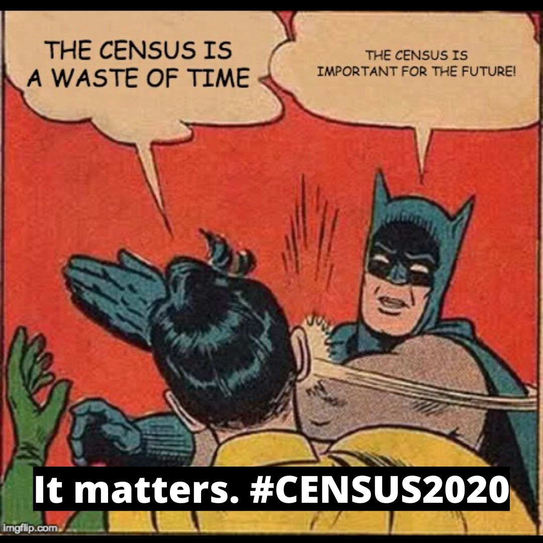 The #2020Census ends in less than a week! An accurate count shapes our community's future, funding and representation for the next decade. It's not too late to #MakeItCount at !