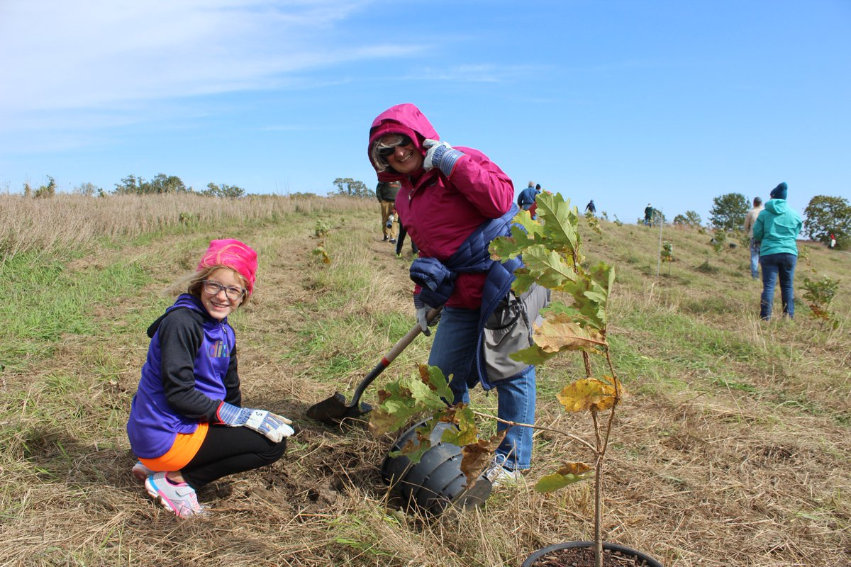 🌳Mark your calendars for our OAKtober Planting Party and help us restore the Big Woods of McHenry County!   🌳Can't make it, but want to donate trees? Donating a tree is a great way to honor or celebrate the memory of someone.