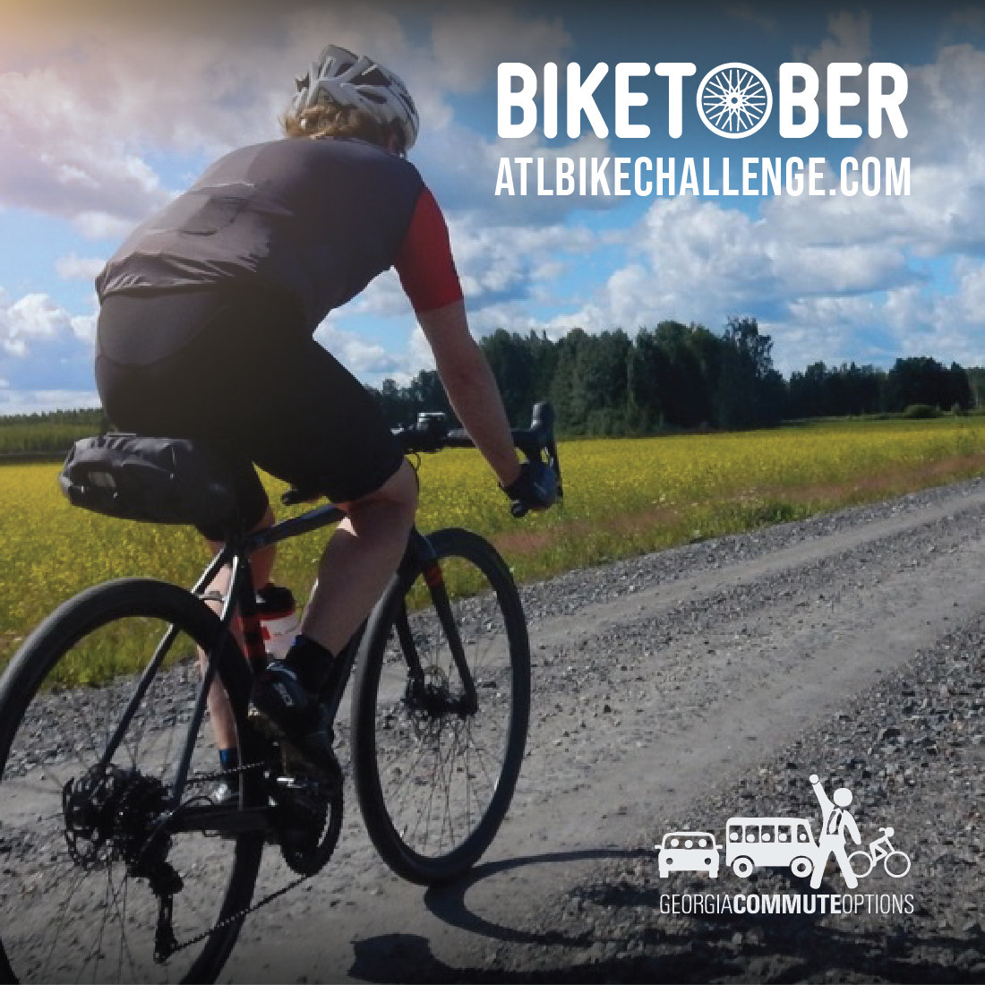 Biking can help improve heart health and reduce stress – plus you can win all kinds of prizes! Register for #Biketober before Oct. 1 at
