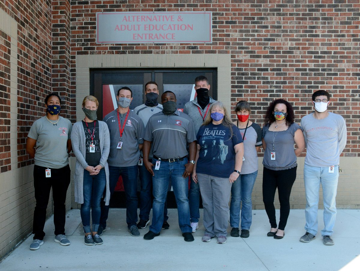 Belated Theme Thursday at Alternative School today - Gray.   Love this awesome, hard-working staff!