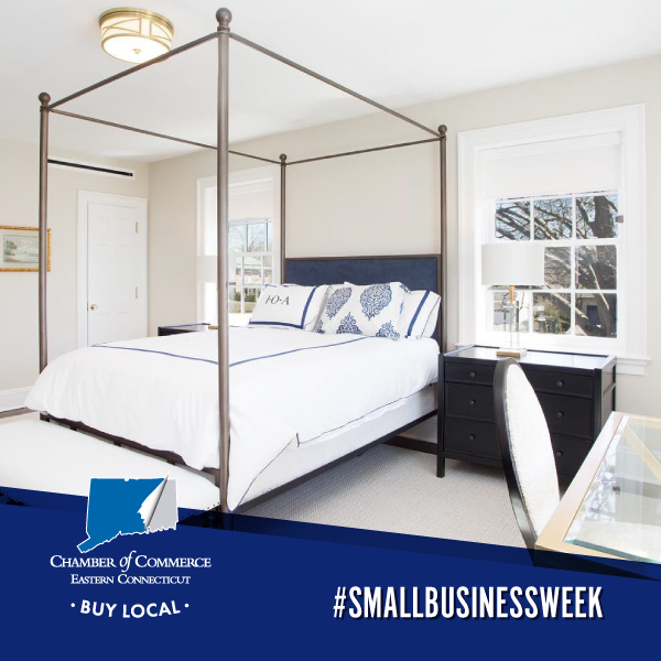 #SmallBusinessWeek suggests a getaway in grand style at the Inn at Ocean Avenue! Elegantly appointed and set on four acres of sweeping lawns and heritage trees, the 1914 home was transformed into a bed and breakfast by the Goldfarb family. Ideal for weddings or a weekend retreat!