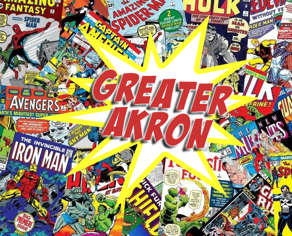 Happy #NationalComicBookDay! You'll find classic tales and today's newest characters & story lines at super-cool stores throughout Greater Akron, including: ; ; ; & . #heyakron #heysummit