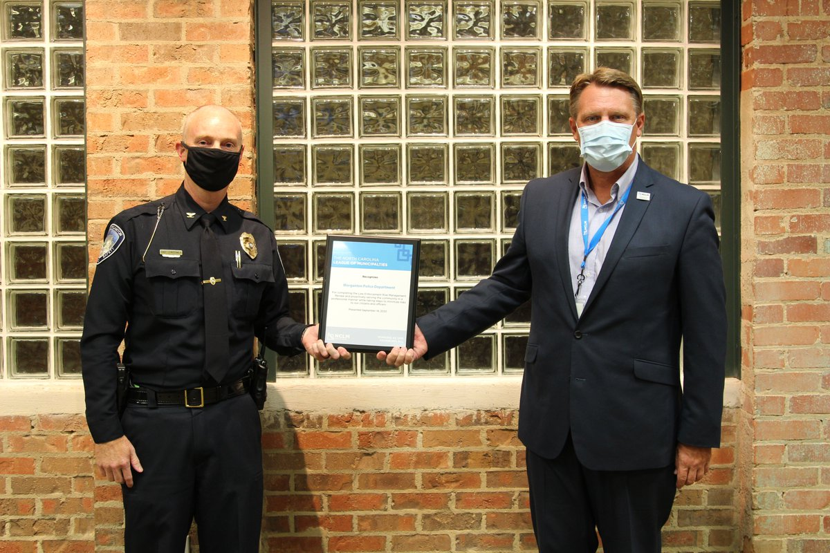 The Morganton Department of Public Safety was recently recognized during the September Morganton City Council Meeting for successfully completing the North Carolina League of Municipalities risk review process. Read more: