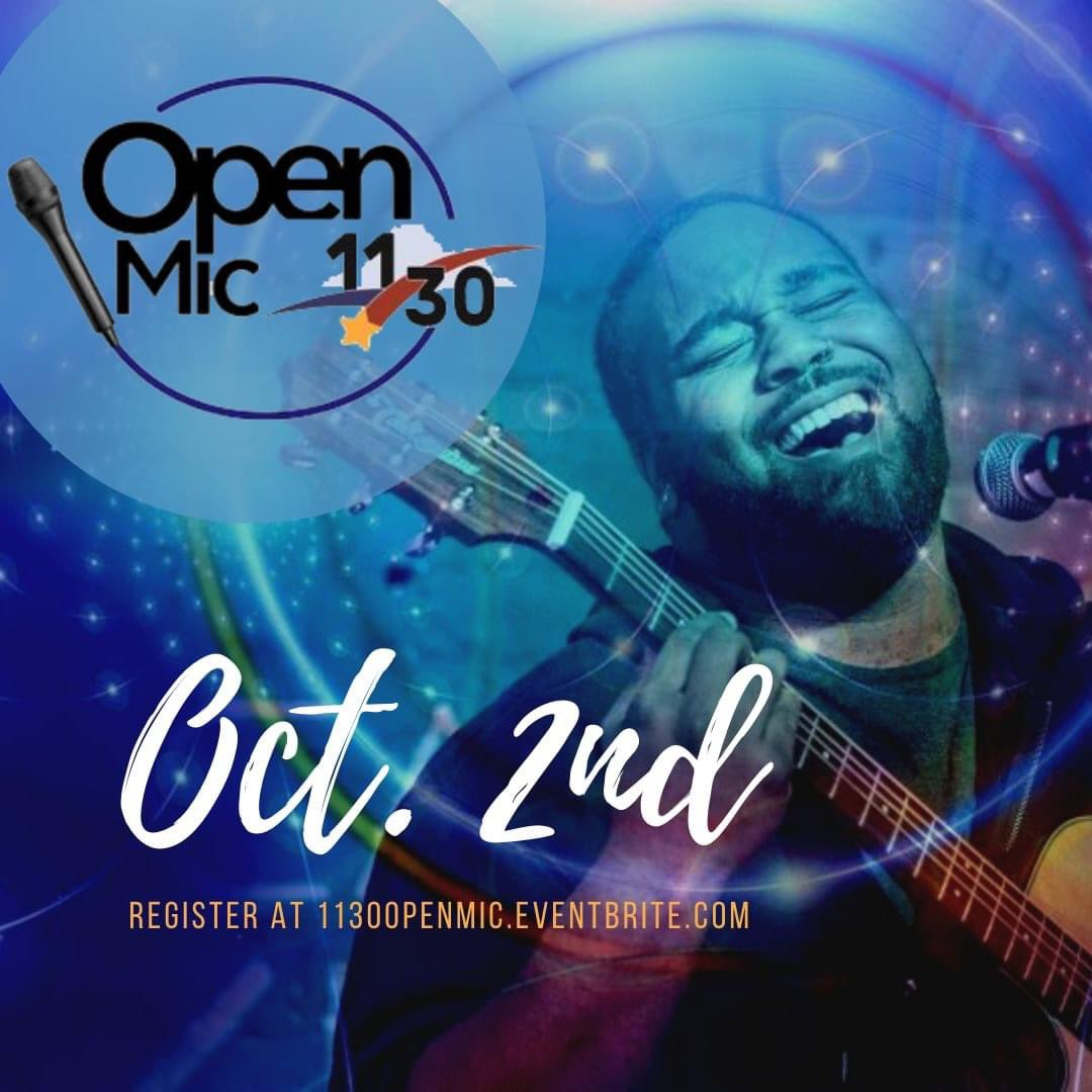 The 11/30 Open Mic is next Friday! Be sure to register via eventbrite to acquire a guaranteed spot! A sign up list will be available with limited spots the day of the event.  More at: