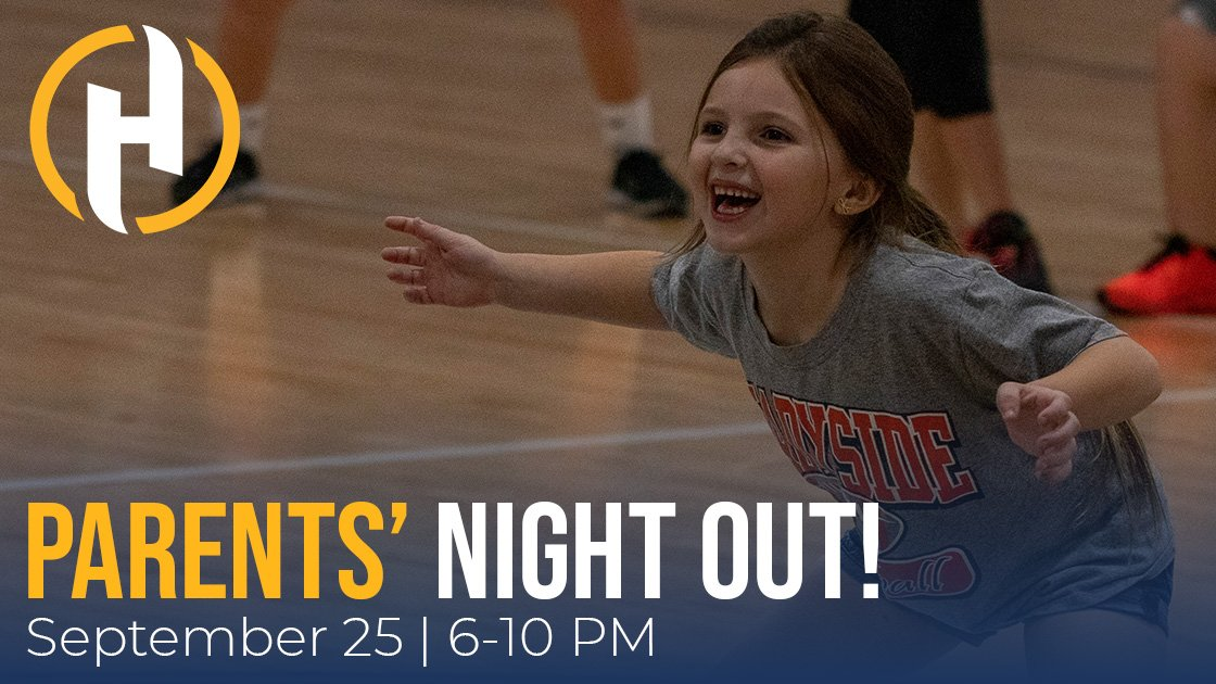 Tonight is Parents' Night Out @PlayHSCSports! Enjoy shopping, dining, and entertainment options at The Highlands while the kiddos (ages 5-12) participate in supervised activities, explore the climbing walls, + more.  Register here ➡️  #VisitWheelingWV 🧗