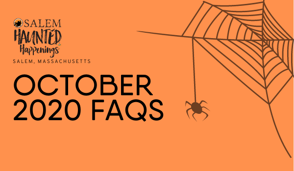 Visiting #SalemMA this October? Save this list of FAQs as you plan your visit this fall season: