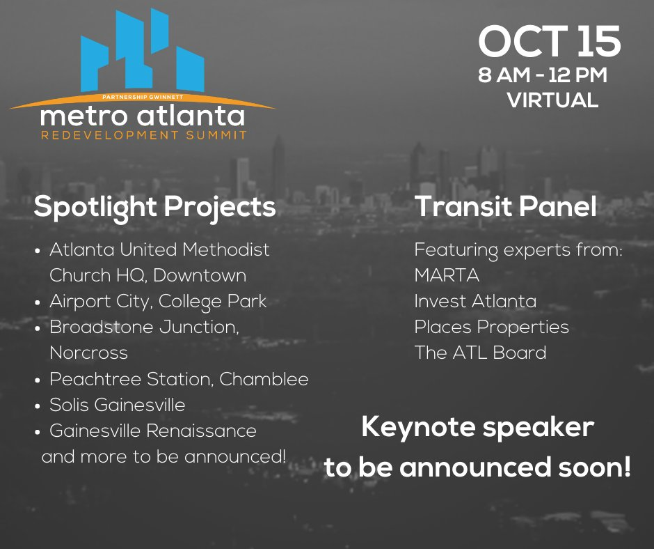 We're so excited for #MARS; can you blame us? This year's summit is jam-packed with awesome spotlights and an expert transit panel. Reserve your seat today at . @QualityGrowth