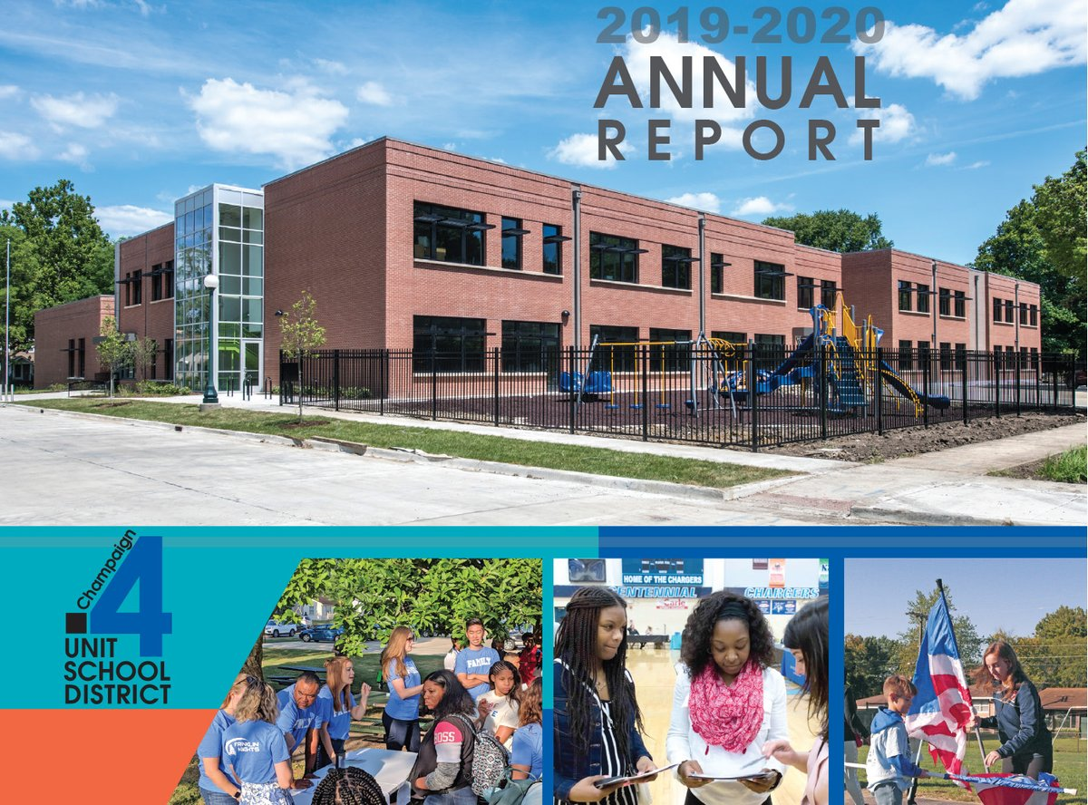 The Unit 4 Schools 2019-20 Annual Report is now available.  English:   Spanish:   French: