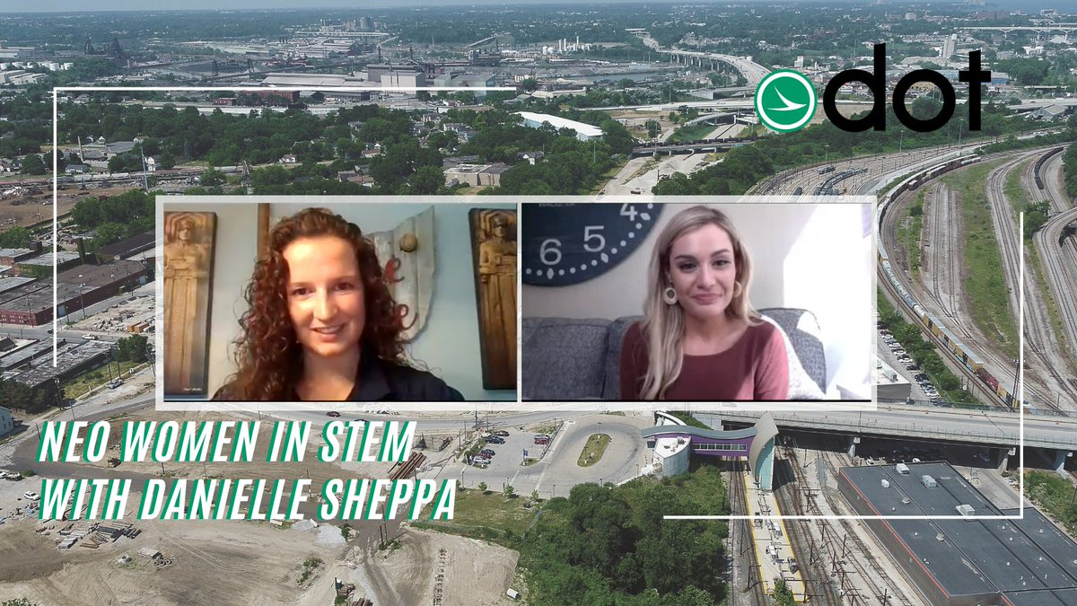 This week @cleveland19news meteorologist @KellyDWeather chatted with ODOT District 12 Engineer of Tests, Danielle Sheppa, in their new series featuring NEO women in STEM. Check out the segment here to learn more about Danielle and what she does at ODOT!