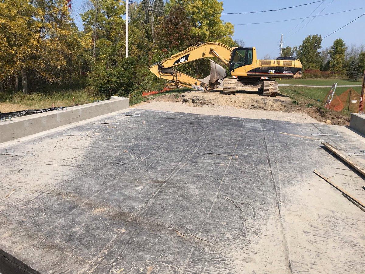 Cedar Street bridge progress