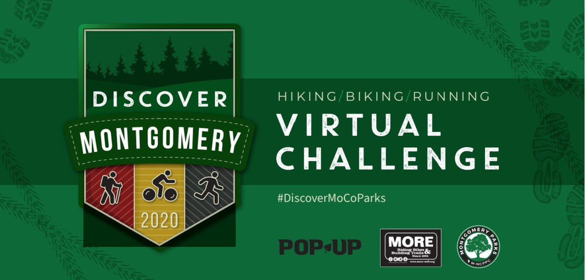 You are putting in your steps and miles for Discover Montgomery Virtual Challenge.   Let everyone know your success. Submit your pics to the Discover Montgomery Wall of Fame on our website.  Visit now and upload your photos: .  #DiscoverMoCoParks