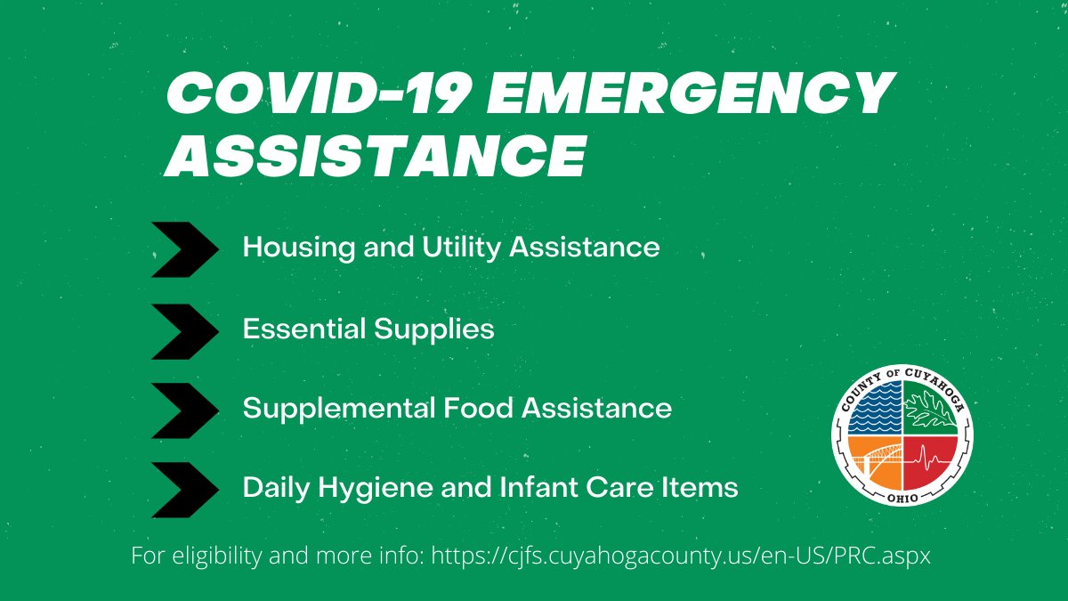 September 30 Deadline for COVID-19 Emergency Assistance Applications is Approaching  If you have been impacted by the pandemic and are in need of assistance with: Rent or utility Food Essential supplies Personal protective equipment (PPE)  Learn More: