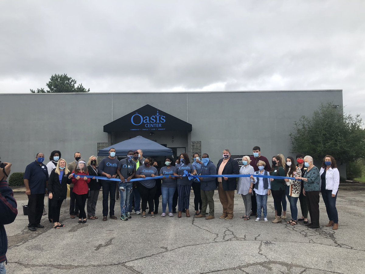 Chairman @CollinDaly6 joined the Greater Limestone Chamber of Commerce and The Oasis Center for their ribbon cutting this morning.  🔹Community 🔹Family 🔹Life 🔹Worship🔹