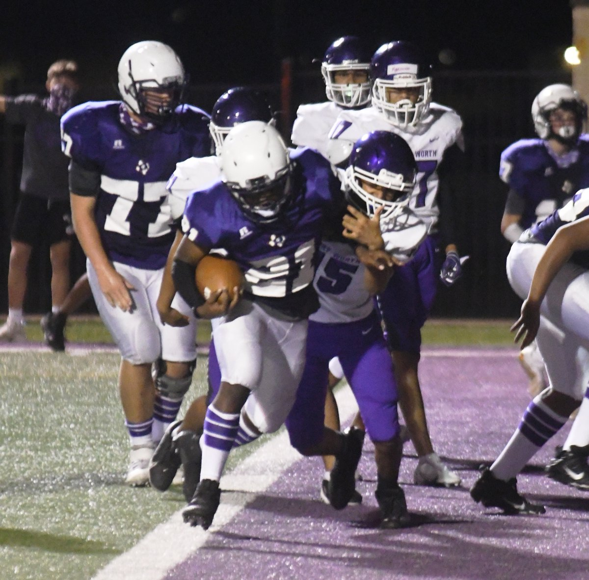GHS 9th Purple Football vs. Fort Worth Paschal