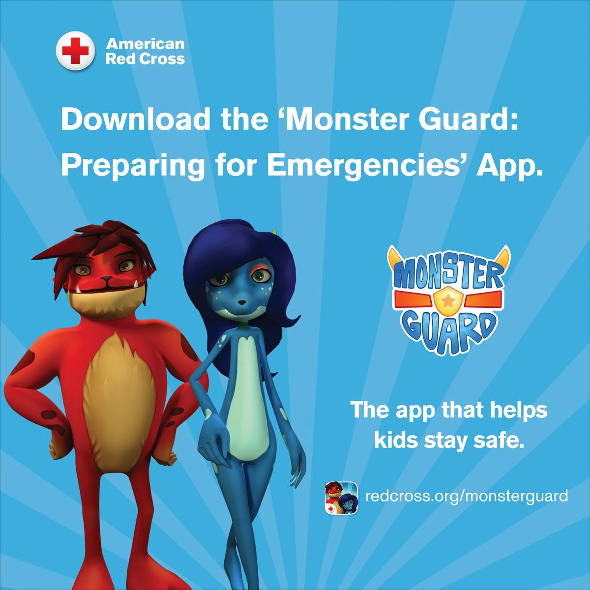 @RedCross has resources for both teachers and parents who are interested in teaching kids about emergencies and #Preparedness  They also have an app about preparedness made for kids!    #NationalPreparednessMonth #YouthPrep