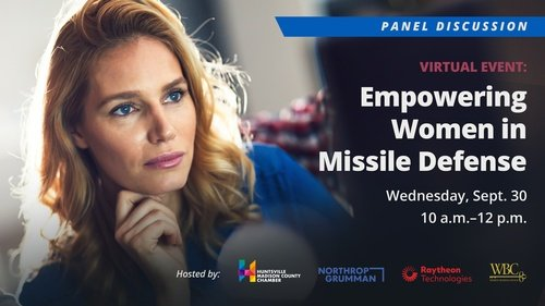 There's a lot of interest in our virtual panel next Wed, Sept. 30 about Empowering Women in Missile Defense - make sure you're part of it! There is no cost, and @waff48 @lizhurleyWAFF will moderate.