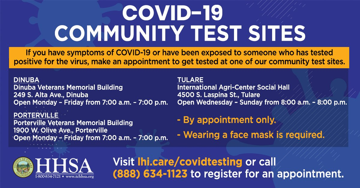 Looking for options for COVID-19 Testing?  Here are 3 sites offering free testing.