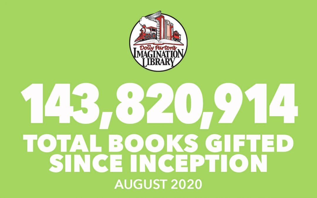 WOW! Thanks Dolly Parton's Imagination Library!   Do you know a family that would like to receive free books? The registration link is below⏬: