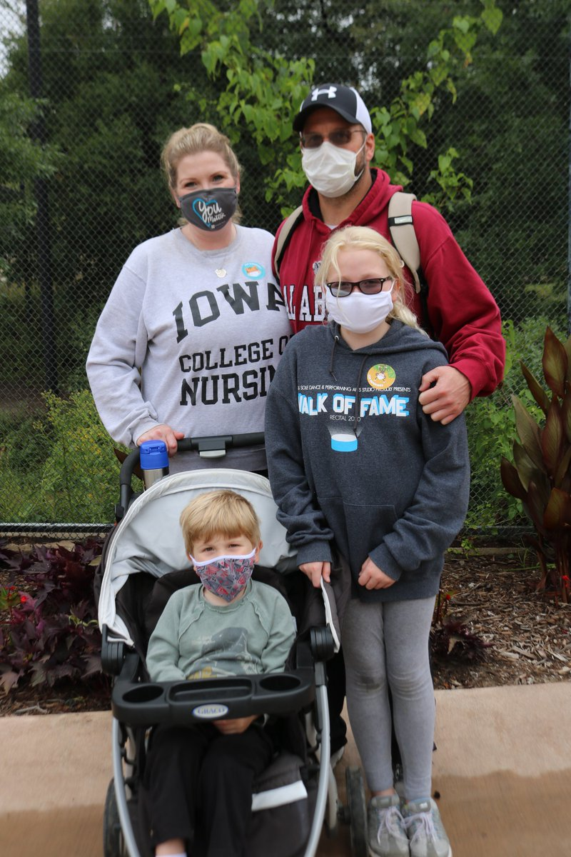 Today, we launched a new program called Zoo Superheroes to recognize Zoo-per individuals for wearing face coverings during their visit—both indoors and out. This week's superheroes: Sebastian and Leighton Rubendall (left) and Henry and Carter Smith (right) with their families.