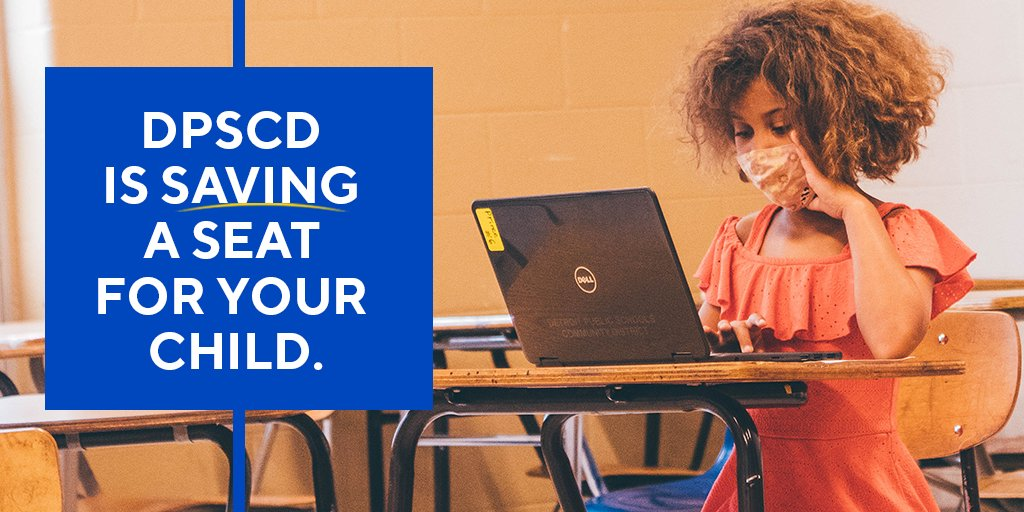 Myth: DPSCD Schools are no longer accepting any new students. Fact: DPSCD is saving a seat for your child and enrolling students! Learn more about neighborhood, application, and exam high schools at  or 313-873-6345. Welcome to DPSCD! #PreparingForYourRise
