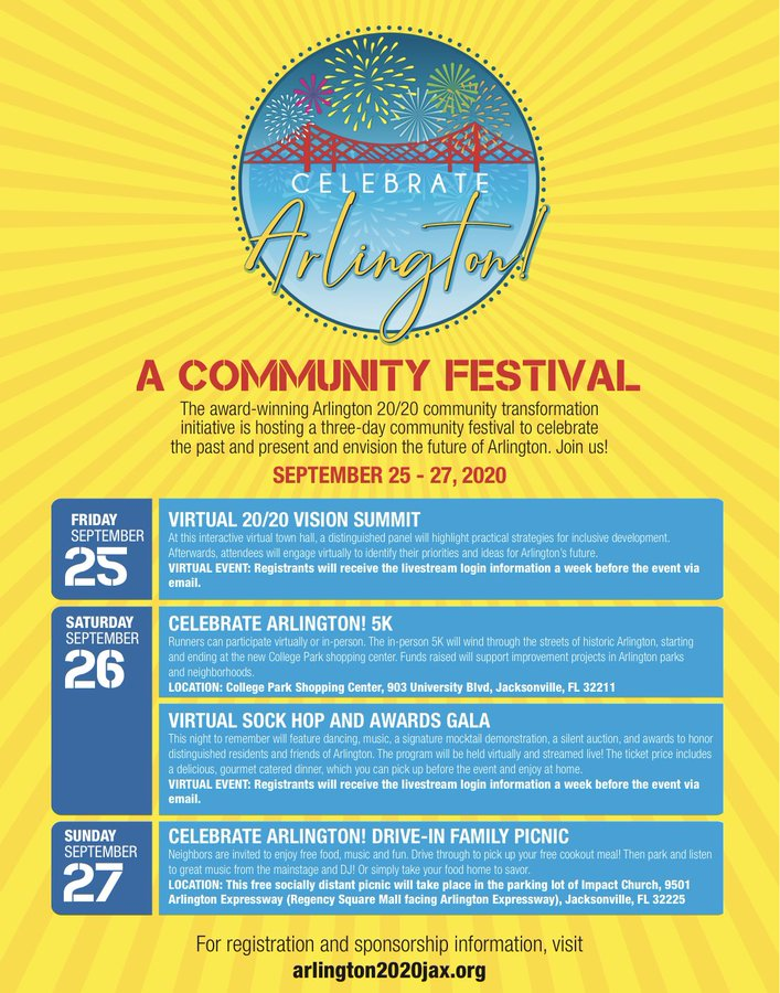 The @Arlington_2020 Community Festival Celebration is underway - 3 days of virtual and in-person events celebrating Arlington.  For more information about the festival as well as the mission of Arlington 2020, please visit: