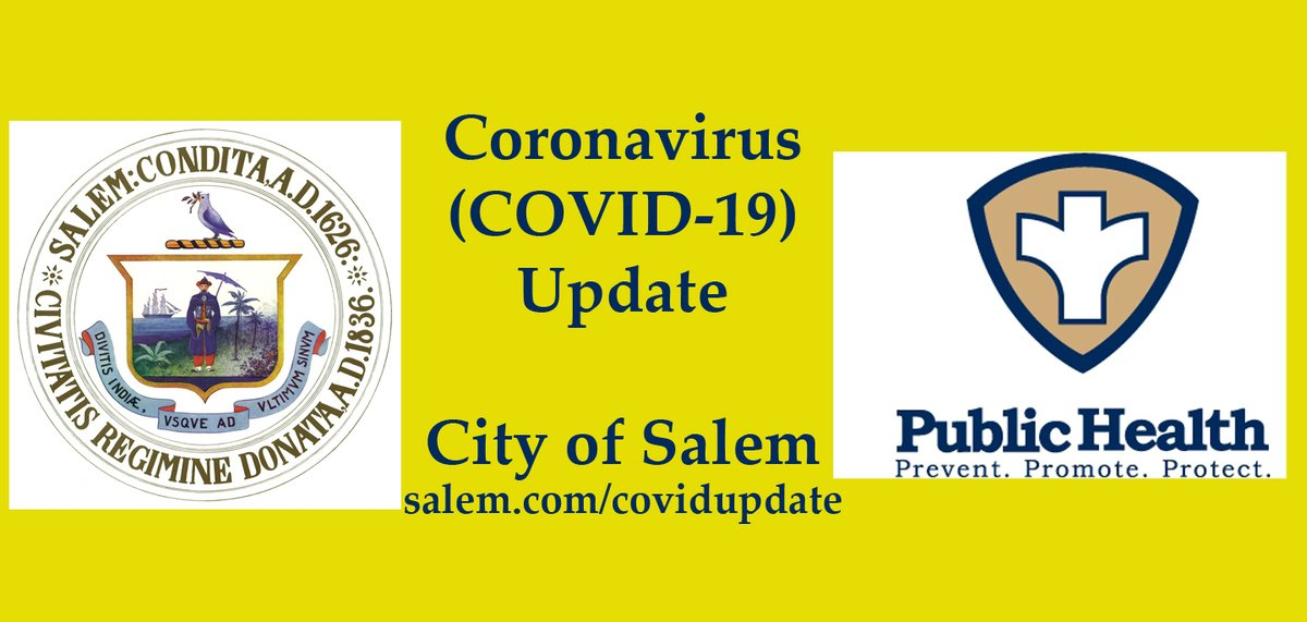 City of Salem COVID-19 Update for September 25, 2020 now available at . Previous COVID-19 Updates are available at