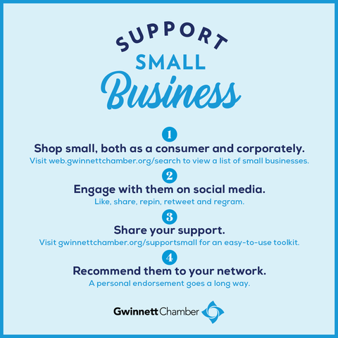 Check out these tips on how you can support small business. #SmallBusinessWeek #SupportSmallBiz