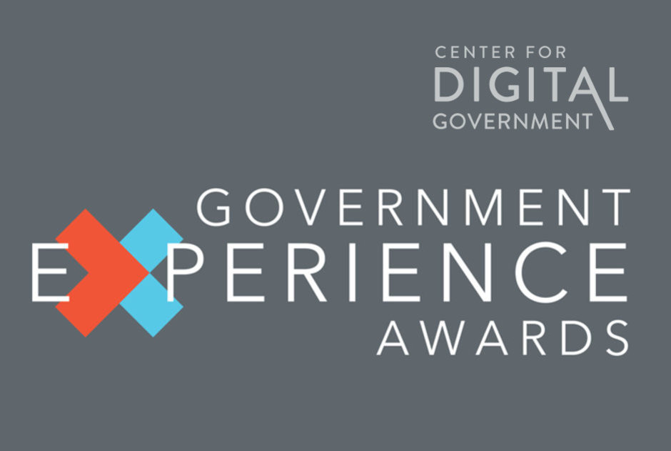 Honored to be recognized as a Government Experience Project Winner 2020 by @govtechnews.  #ux #govtech