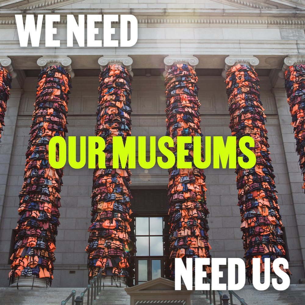 Our museums need us as much as we need them. While open hours and attractions might be different right now, places like @artsmia are finding creative ways for the community to experience the arts.