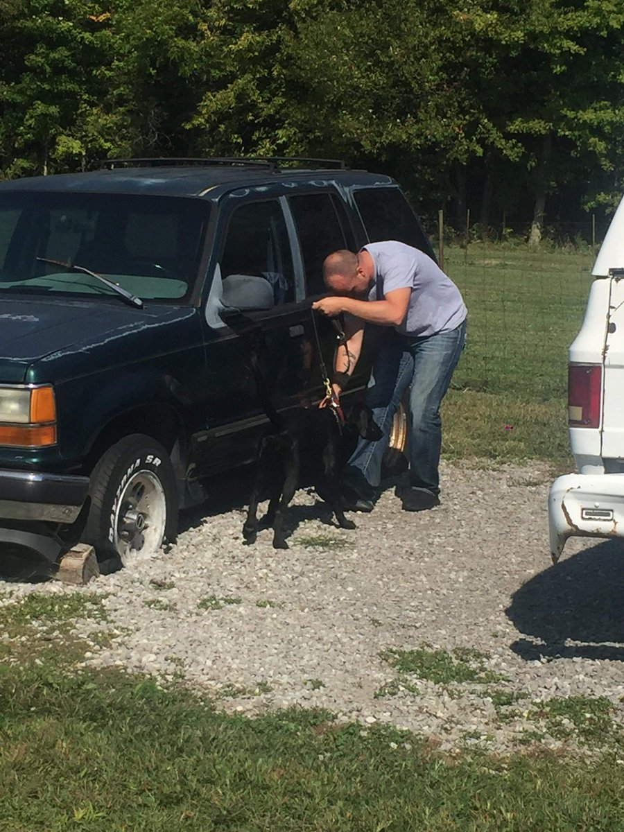 School Resource Officers and K9s in training today too.