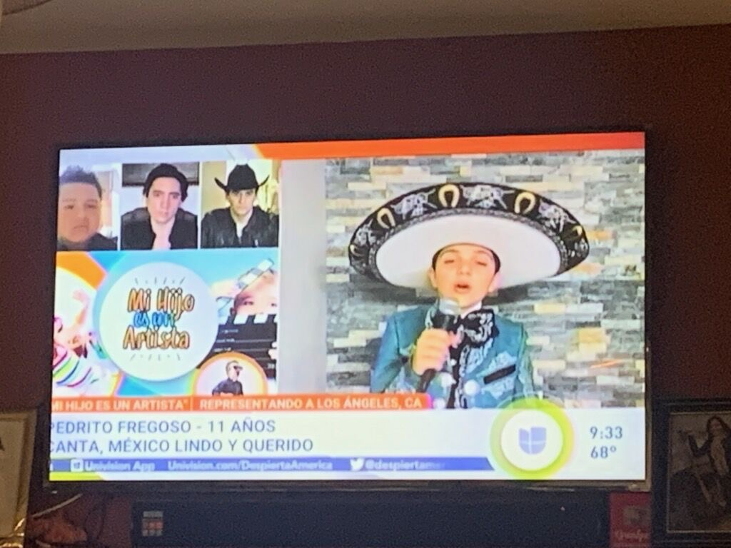 He qualified to the next round!! Pedrito Fregoso, 6th grade student at @MtViewMS, has caught the spotlight on @despiertamerica while participating in their competition for young musicians called