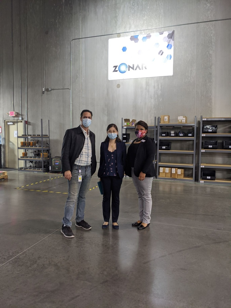 Zonar is the leader in smart fleet management technology providing verified inspection reporting, GPS tracking and ELD-ready solutions for all fleet sizes. Our team got to visit this @GwinnettChamber member this week and tour their facility. Thanks @zonarsystems for having us!