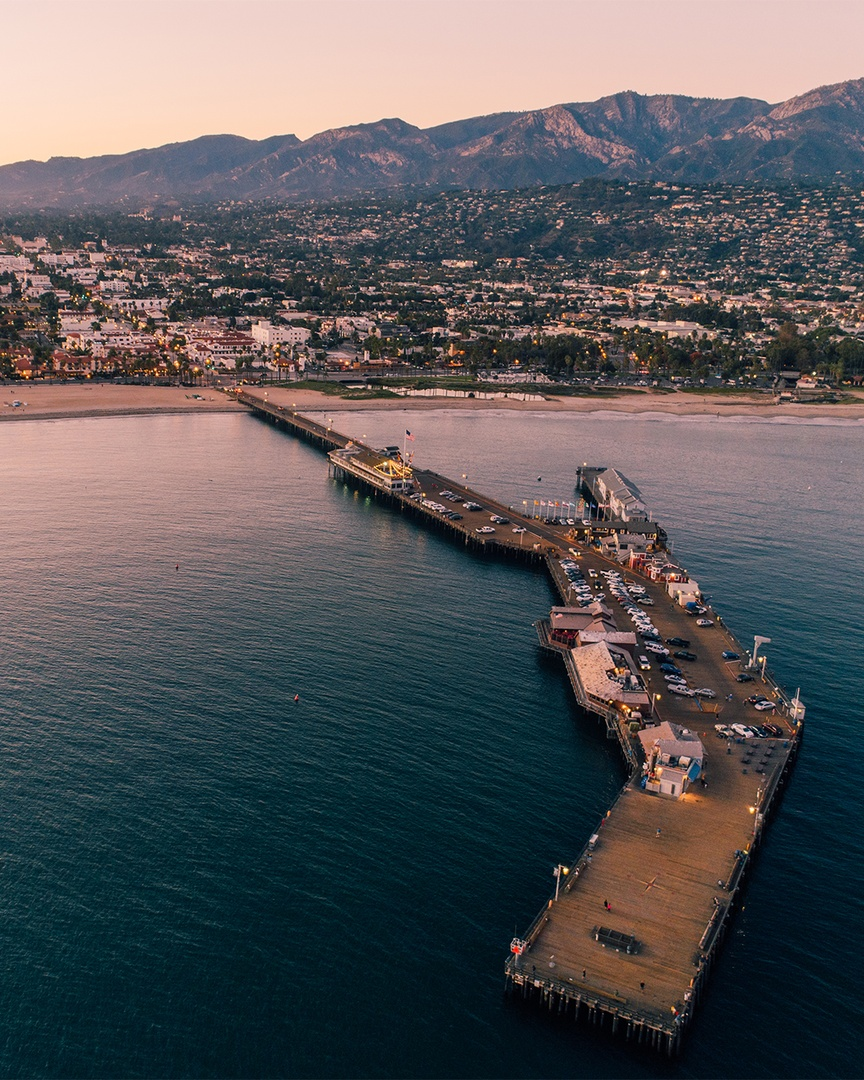 Dine, shop, and sip along the sea at @stearnswharfsb, one of #SantaBarbara's most iconic landmarks.   You tell us, what's your favorite spot to visit when on Stearns Wharf? #SeeSB
