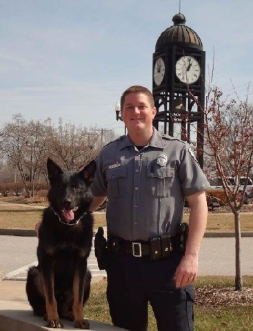 The O'Fallon Police Department is proud to announce the retirement of K9 Talos. K9 Talos has served the O'Fallon community for more than 7 years and now looks forward to his years as a family pet!