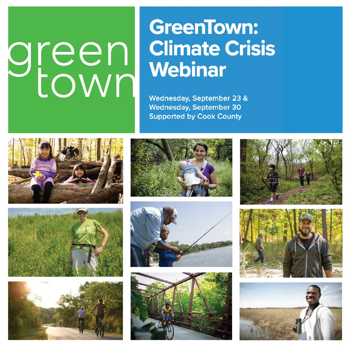 There's still time to register for a special screening of The Guardians on 9/28 and day two of GreenTown: Climate Crisis on 9/30. To register, go to: .